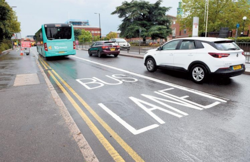 Slough Bus Lane Chaos